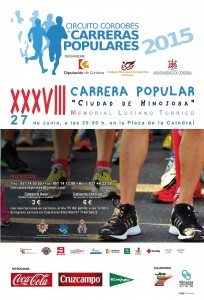Cartel Carrera Popular HinojosaWEB.
