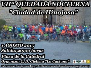 VII QUEDAD NOCTURNA CD CICLISTA LA CASTANA.