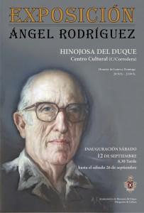CARTEL EXPOSICIÓN ÁNGEL RODRÍGUEZ.